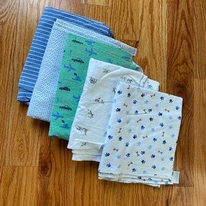 Carter's and Koala Baby receiving blankets